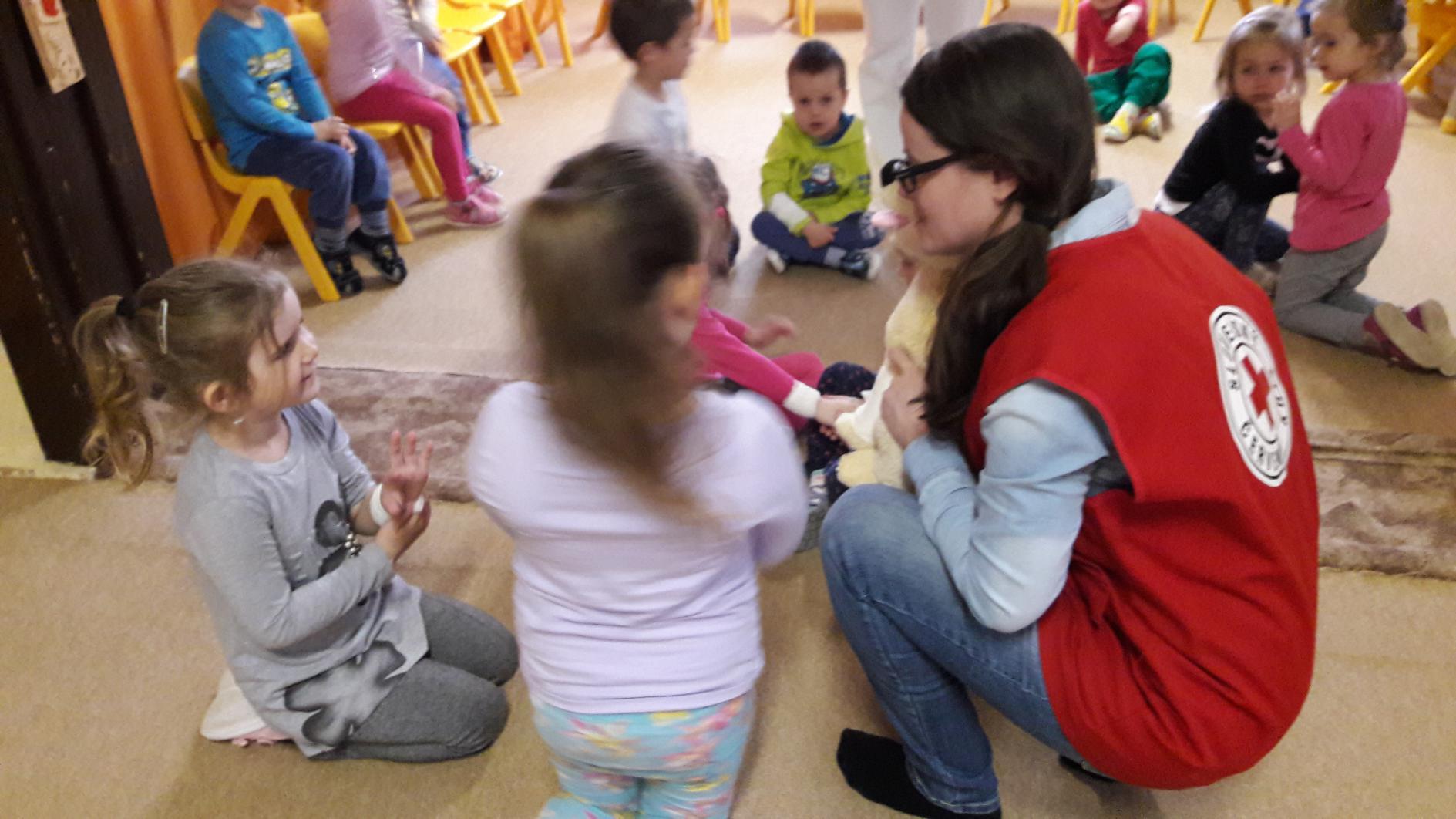 Prvá pomoc v škôlke v Košických Olšanoch 2017