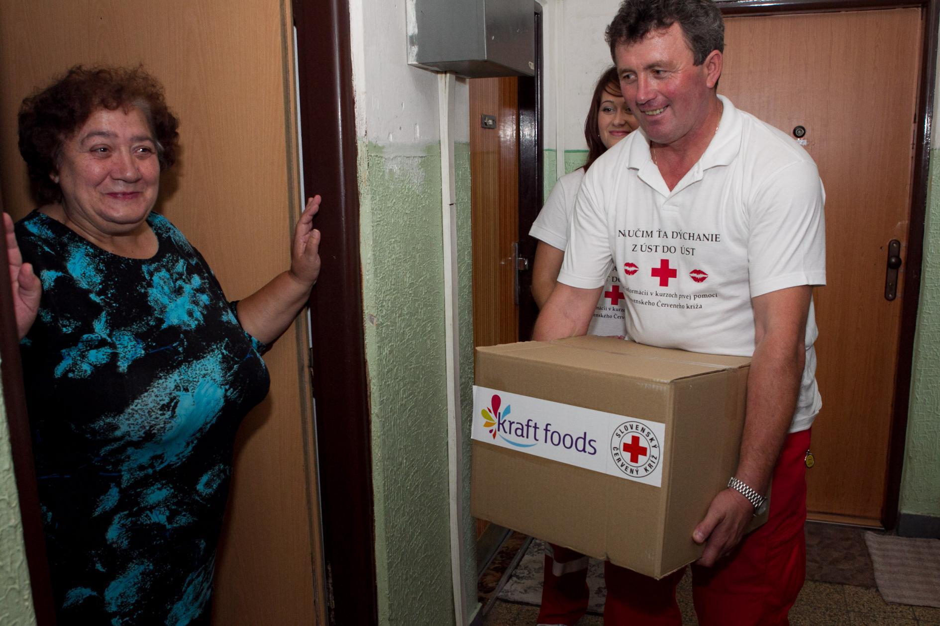 Spoločný projekt Kraft Foods Slovakia a Slovenského Červeného kríža