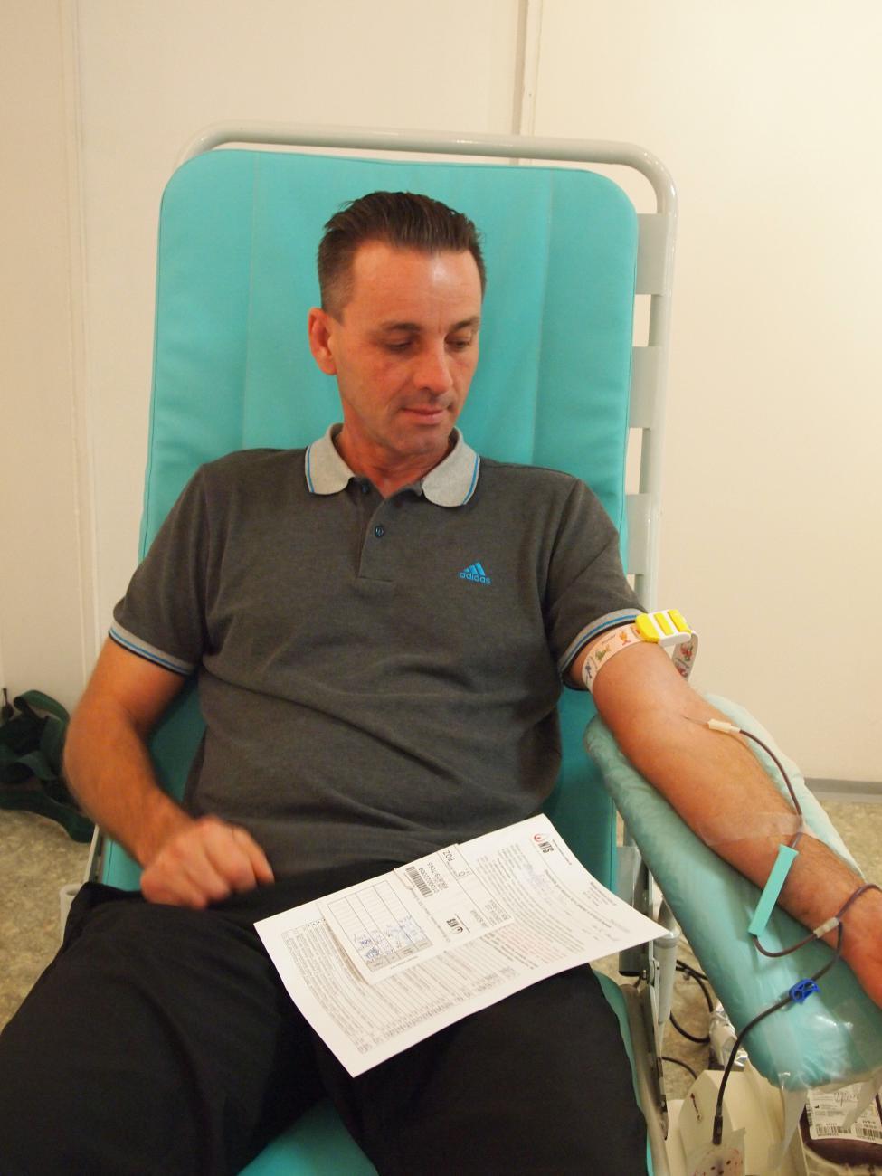 Mobilný Odber krvi 18.9.2014