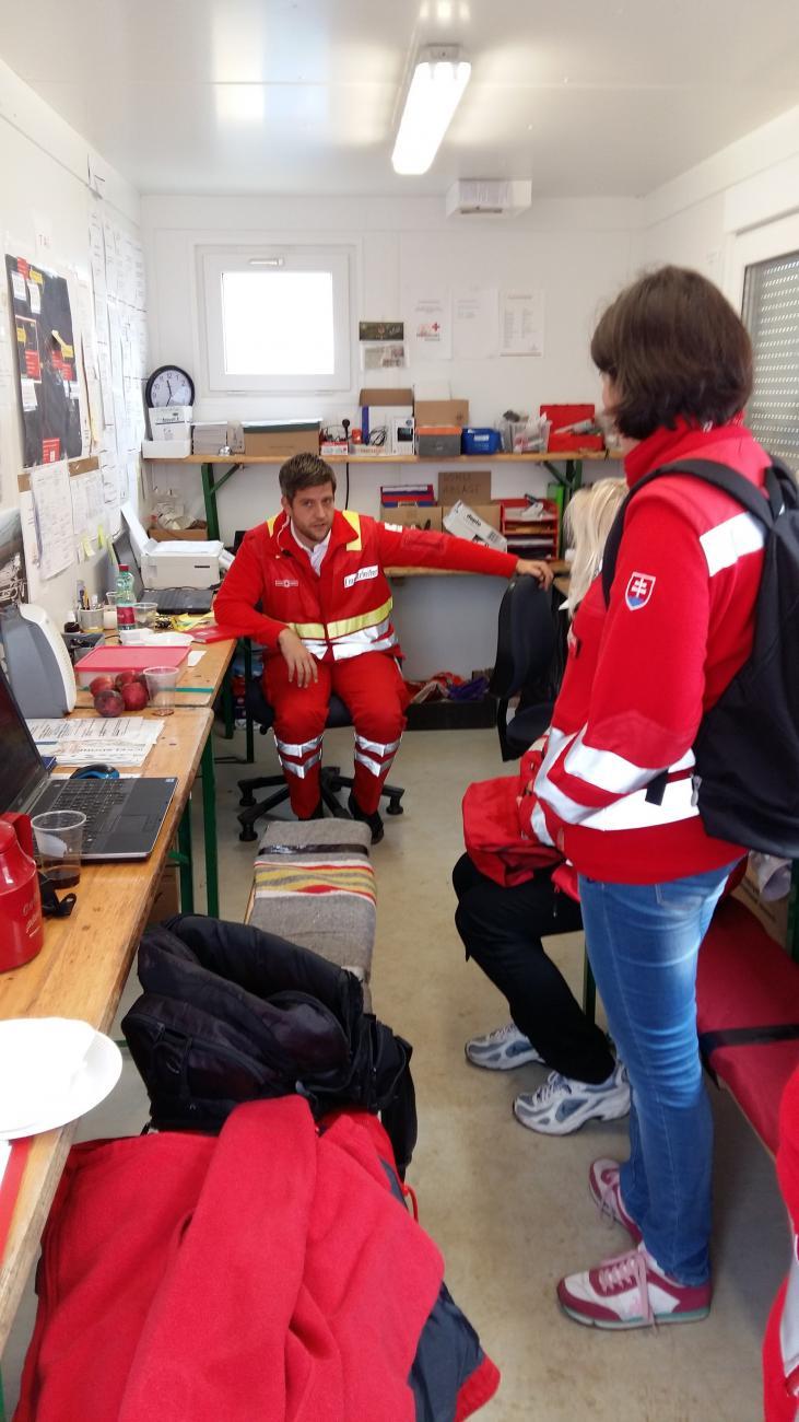 Dobrovoľnícka pomoc v Rakúsku