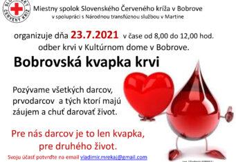 Bobrovská kvapka krvi