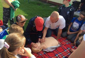 Ukážky prvej pomoci pre ZŠ Švermová