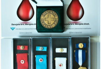 Ocenovanie darcov krvi 2016