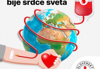 Svetový deň darcov krvi 14. jún 2021 (Tlačová správa)