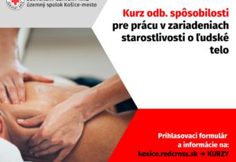 Kurz odbornej spôsobilosti pre prácu v zariadeniach starostlivosti o ľudské telo – otvorenie kurzu