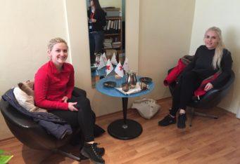 Dar od nórskych študentov študujúcich v Košiciach
