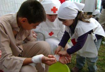 Mladí zdravotníci