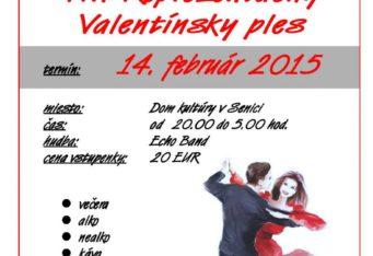Valentínsky ples SČK SENICA – 14.2.2015