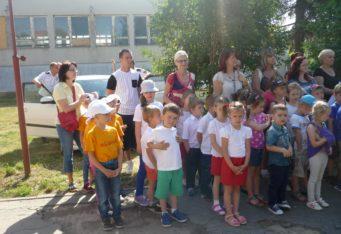 Prehliadka zdravotno-výchovnej hry: Evička nám ochorela,Kvapka krvi a Adamko 9.6.2015 – obvod Trebišov