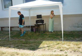 Ukážka prvej pomoci v obci Klin nad Bodrogom 1.7.2015