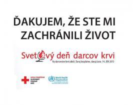 Svetový deň darcov krvi 2015