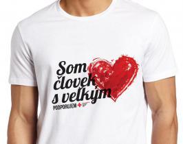 Podporte nás a získajte tričko s veľkým srdcom
