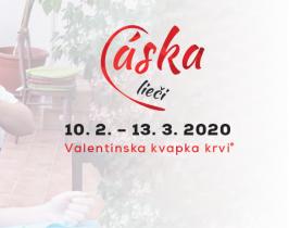Valentínska kvapka krvi® 2020
