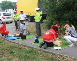Kontrola poskytovania prvej pomoci