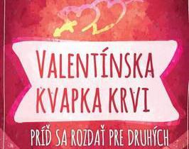 Valentínska kvapka krvi