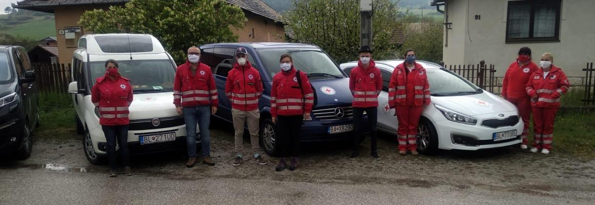 Materiálna pomoc obyvateľom osád Žehra a Bystrany