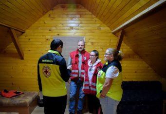 Školenie humanitárnej jednotky SČK