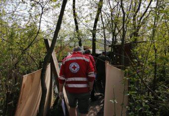 Terénna správa o ľudoch bez domova v meste Žilina
