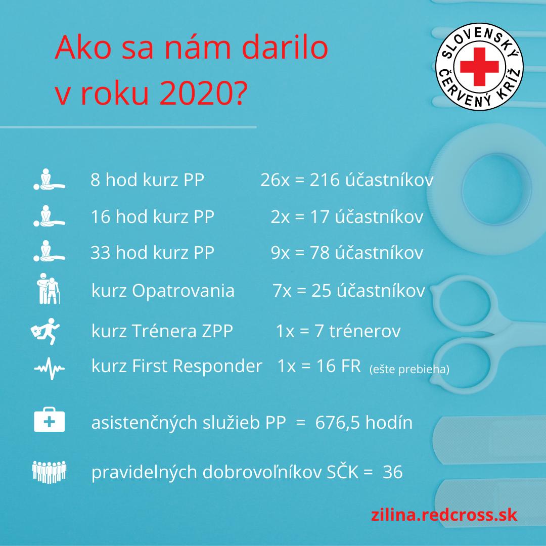 Ako sa nám darilo v roku 2020?