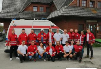 Víkend Dobrovoľných záchranárov SČK